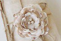 Projects - Shabby flowers / handmade flowers