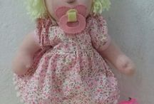 boneca clarissa / Boneca de pano