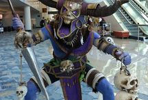 Diablo 3 costumes / masks from Diablo 3