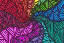 barevné