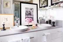 Banheiros & Lavabos / Banheiros maravilhosos!! #hugarquitetura #huginspira #banheiro #bathroom #lavabo #arquitetura #decoracao #design