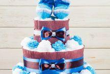 Diaper Cakes / by Joselyn Tirado Rentas