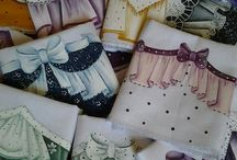 bordados e pintura em tecido