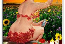 Zoveel dikke dames! / Dikke dames in schilderkunst, beeldhouwkunst en fotografie! Hot hot ladies...