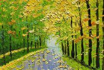 Yağlıboya resimler... oil paintings