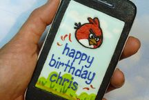 Angry Birds / cakes, cupcakes, cookies ideas & tutorials