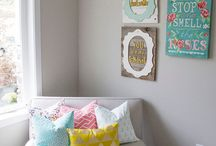 Baby Room Ideas / Baby Girl's Bright & Beautiful Nursery