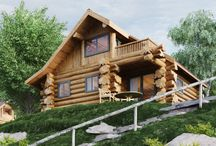 Handcrafted Log Cabin @ Pine Bank Chalets / Cedar Lodge, currently being constructed for completion 2016. Handmade Western Red Cedar Log Cabin with Sauna, underfloor heating, balcony off master bedroom, pet friendly in the heart of Aviemore, Highlands of Scotland