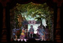 Papiertheater - Model Theatre / Model Theatre, Toy Theatre, Papiertheater.