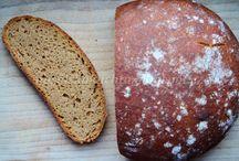 Bread, sourdough baking / Chleba, pečivo a kvásek