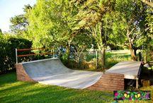 Skatepark mini-ramps DIY
