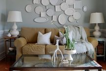 Paint colors in our house  / by Amy Riley