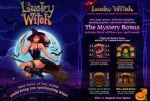 Lucky Witch / La strega più affascinante che ci sia è atterrata al casinò Voglia di Vincere con il suo seguito di creature misteriose, pronta a elargire funzionalità bonus intriganti e interattive: zucche, pozioni, simboli magici e libri di incantesimi nascondono un sacco di regali. Tenta la sorte con Lucky Witch!