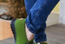 валяные туфли