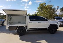 TRD Hilux with Bull Motor Body Canopy