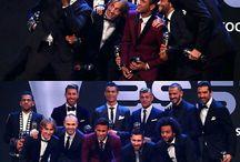 Dani Alves , Sergio Ramos , Cristiano Ronaldo , Toni Kros , Buffon , Luka Modrić , Andres Iniesta , Neymar Da Silva Santos Junior , Lionel Andres Messi , Marcelo i Benzema
