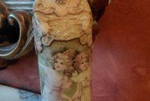 Τα δικά μου μπουκάλια ντεκουπάζ! My decoupage bottles ! / Μπουκάλια διακοσμημένα με την τέχνη του ντεκουπάζ! Βottles decorated with the art of decoupage by me! https://www.facebook.com/artedideco/