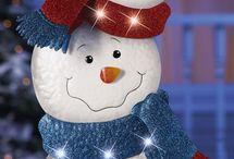 nieve muñeco