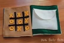 Crafts:  Quiet Book Patterns