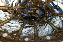 ERIC Bonte (Stained Glass Dome & Glass Sculptures) / Master glass artist since 1979 - Stained glass & Sandblasted etched glass creations - CEO of France Vitrail International Paris - domes & sculptures exhibition