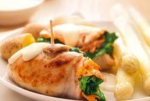 Feest met kip op tafel! / Heerlijke, kerstrecepten (of voor een ander feestje) met kip.