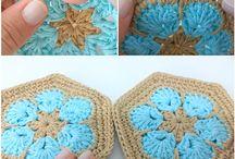 Hackovane kabelky -Crochet beg