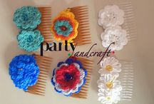 Hair accessories @ Partyandcraft / Our creations.