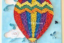 quilling balon