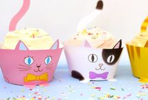 Cup cake wrappers - topping