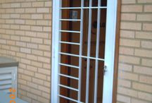 Iron gates doors