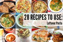 Leftover Recipes by The Flexitarian / Vegetarian & Vegan Leftover Recipe Duos by The Flexitarian