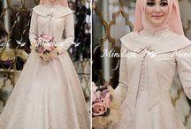 gaun islam