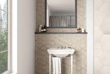 Bathroom Tile / Bathroom Tile that ranges from traditional to contemporary. #BathroomRemodel #Bathroom #HomeImprovement
