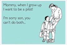 pilot humour