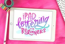 iPad Lettering