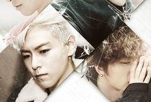 I Love Big Bang ⚠ / Big Bang:  Active: 2006-//// Debut date: 23.09.2006  Members: T.O.P - 04.11.1987 (30) Taeyang - 18.05.1988 (29) G-Dragon - 18.08.1988 (29) Daesung - 26.04.1989 (28) Seungri - 12.12.1990 (27)