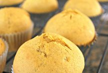Muffins / I am all about healthy muffins for kids. I love to hide all veggies and healthy stuff in yummy muffins and feed it to my kid. It doesnt hurt that he loves cake. So its a win-win all the way!