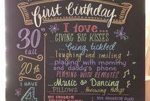 1st birthday ideas