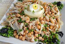 saladas nutritivas e saborosas