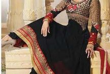 Savera /  Designer Georgette Anarkali With Heavy and Beautiful embroidery work Done from Top to Bottom. Comes along with Shantoon Bottom and Chiffon Dupatta with fine work of Embroidery.