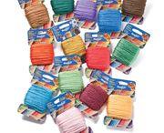 Needloft / Cottage Mill's Needloft Craft yarn - 40 colors, 20 yard cards.