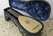 Lutes luths / 11 Course lutes custom made for early French baroque music