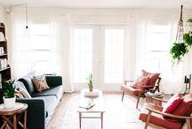 Interior design ideas / Relaxed family room Boho style