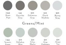 Paint / Home decor painting trends - the best paint colours for your home
