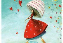 ilustraciones de nenas