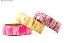 Metal Bangles - Fashion Jewelry / by BlingStation.com