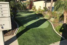 Front Yard #ArtificialGrass #Golf #PuttingGreen