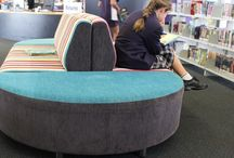 Library Seating / Modern, comfortable seating for libraries and schools