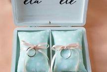 Porta anillo boda
