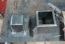 molde de maceta de cemento